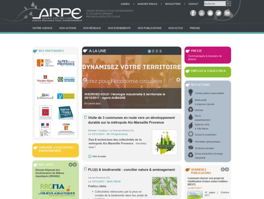 Stratégie de communication de l'A.R.P.E