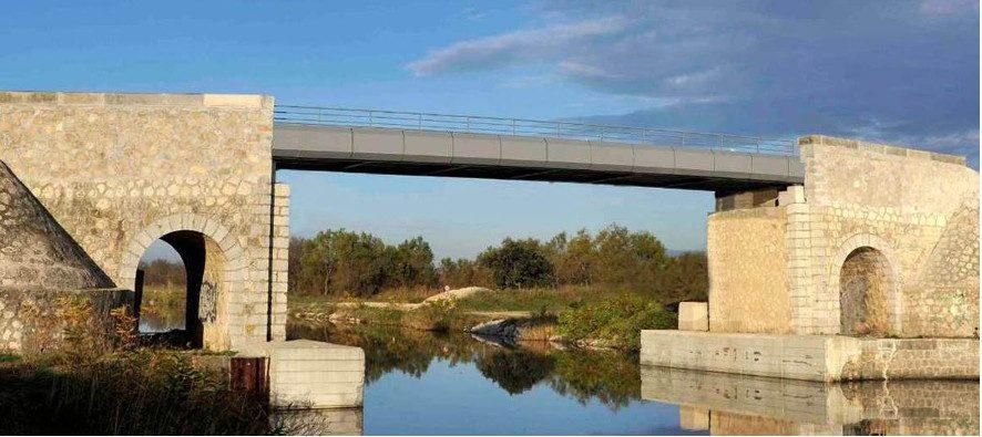 Réhaussement du Pont d'Espeyran