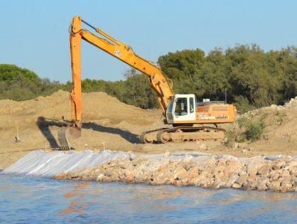 Travaux de modernisation du Canal du Rhône à Sète