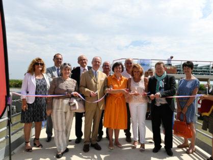 Inauguration de chantier Voies Navigables de France