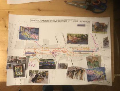 Concertation Avignon - Citadis - Requalification de la rue Thiers